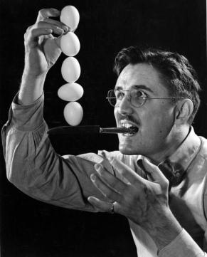 egg balancing