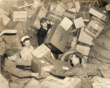 troops holiday mail deluge