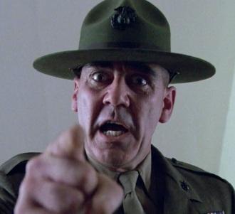 R Lee Ermey Drill Sergeant 2